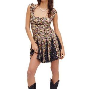 NWT Free People Ponderosa Mini Dress